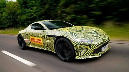 Aston Martin V8 Vantage teaser