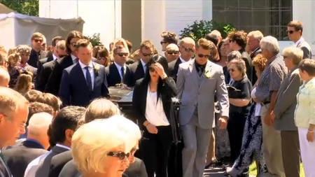 Nicky Haydeni matus