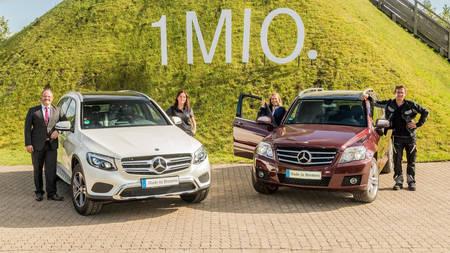 Mercedes-Benz GLC'd on müüdud kuuekohaline arv