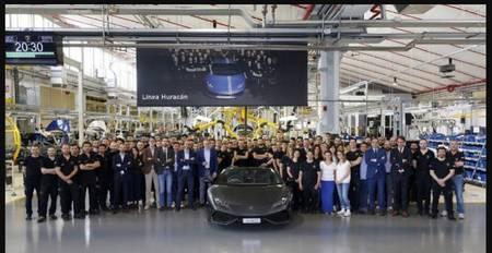 8000. Lamborghini Huracan