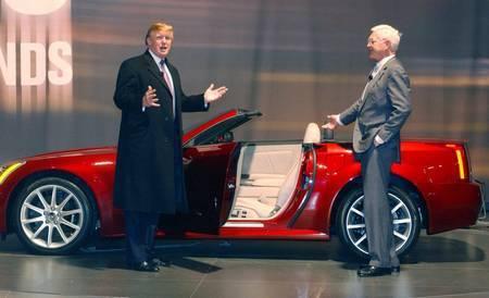 Donald Trump and Bob Lutz