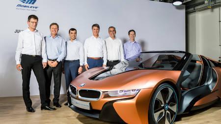 BMW, Intel ja Mobileye pressiüritusel