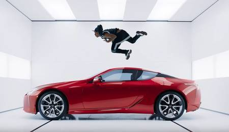 Lexus LC Super Bowl commercial