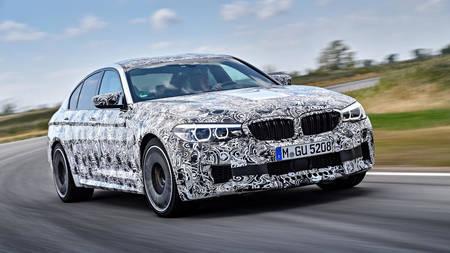 BMW M5 2018 prototüüp