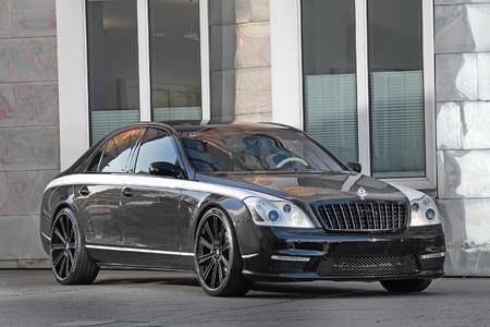Maybach 57S Night Luxury