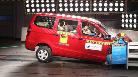 Chevrolet Enjoy NCAP kokkupõrketestil
