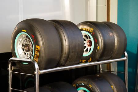 Pirelli F1 tires