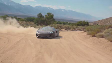 McLaren 570 GT'dega matkal