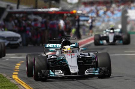Lewis Hamilton, Australia 2017