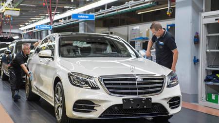 Mercedes-Benz S-klass 2018