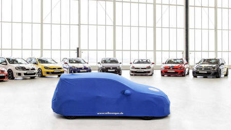 Volkswagen Golf GTI ideeauto, mis esineb Wörthersees