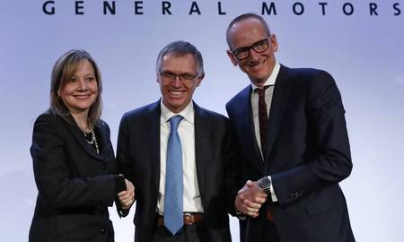 Mary Barra, Carlos Tavares ja Karl-Thomas Neumann