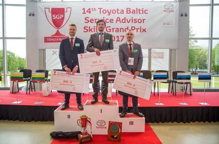 Toyota Baltic Service Advisor Skills Grand Prix 2017