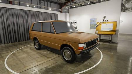 """Land Roveri näitus """"Range Roveri lugu"""""""