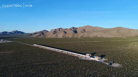 Hyperloop One testtube