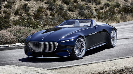 Mercedes-Maybach Vision 6 ideeauto