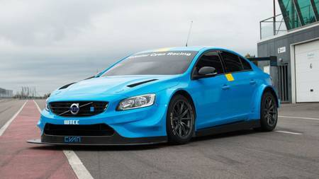 Volvo Polestar Cyan Racing S60
