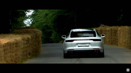 Porsche Panamera Sport Turismo Goodwoodis