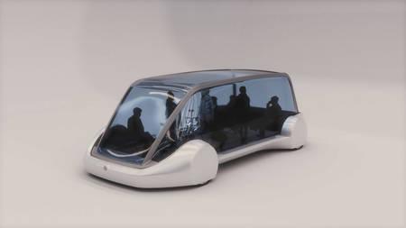 The Boring Company passenger pod