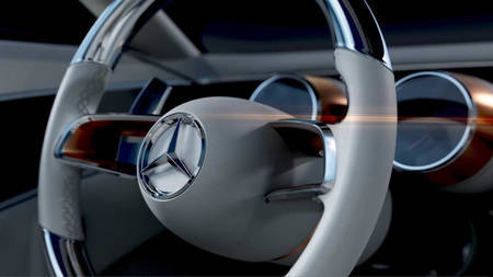 Mercedes-Benz Vision tiiser