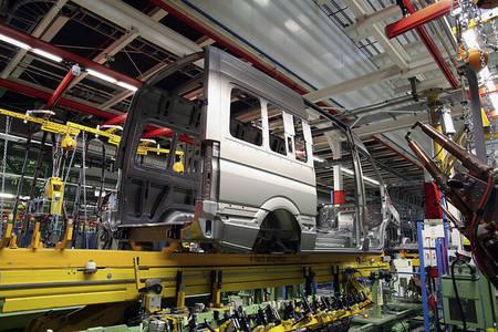 Mercedes-Benz Sprinteri tootmine Düsseldorfis