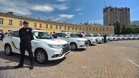 Ukraina politsei Mitsubishi Outlanderid