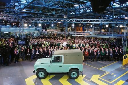 Land Rover Defenderi ärasaatmine