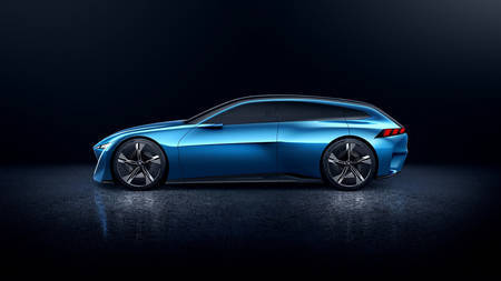 Peugeot Instinct Hybrid Concept