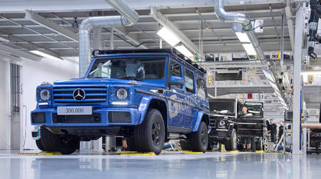 Mercedes-Benz G500 (300 000th anniversary model)