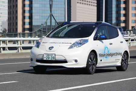 Nissan Leaf Intelligent Driving prototüüp