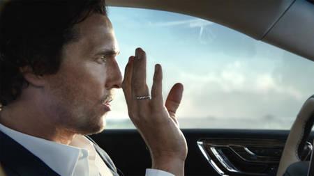 Matthew McConaughey ja uus Lincoln Continental