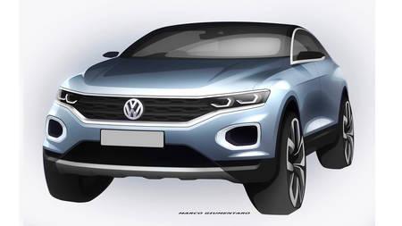 Volkswagen T-Roc tiiser