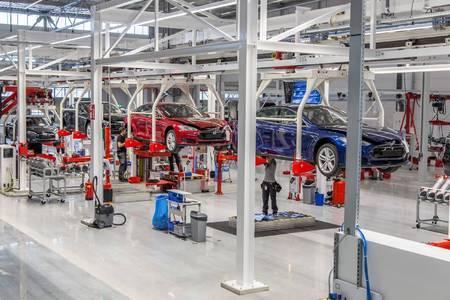 Tesla Motors'i Tilburgi tehas