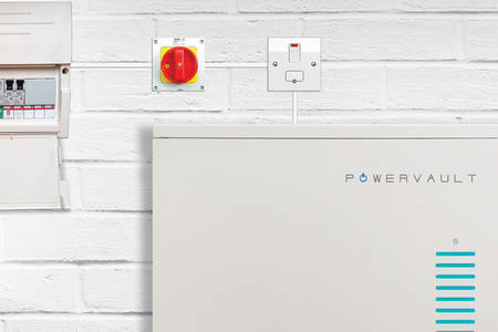 Renault and Powervault home battery system