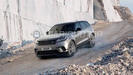 Lekkinud fotod Range Rover Velarist