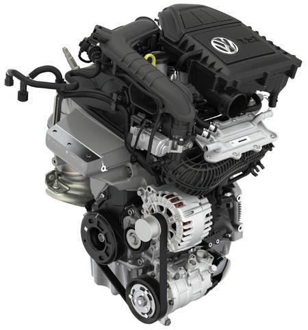 1.0 TSI engine (three cylinder)