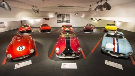 Ferrari muuseum Maranello linnas