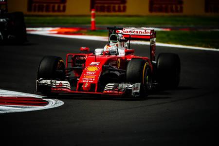 Sebastian Vettel, Mexican GP 2016