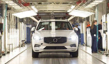 Volvo XC60 2018 tootmine