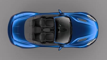 Aston Martin Vanquish S Volante kabriolett