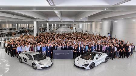 McLaren alustas 720S-i tootmisega