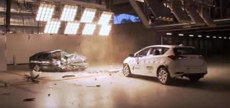 ANCAP Toyota Corolla crash test
