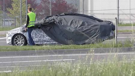 Hoo kaotanud Mercedes CLS 2018 prototüüp