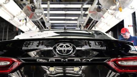 Toyota Camry 2018 tootmine
