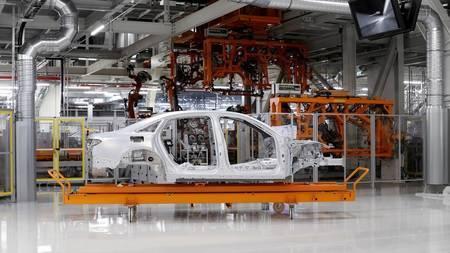 Audi A8 construction