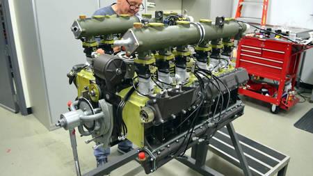 Porsche 917 mootori taastamine