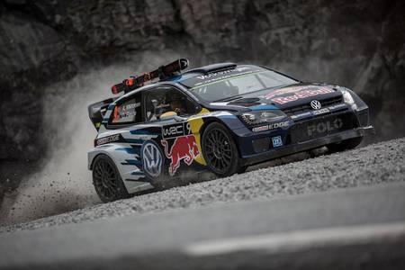 Volkswagen Polo R WRC vs Svindal