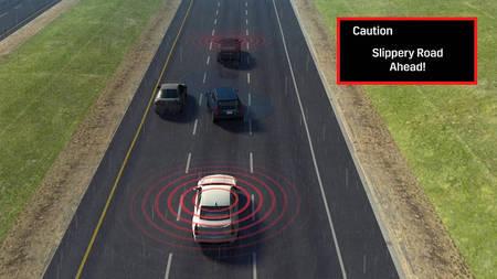 Cadillac CTS 2017 V2V tehnoloogia