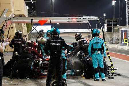 Lewis Hamilton, Bahrain 2106