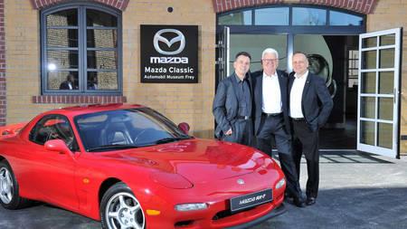 Mazda klassikaliste autode muuseum Augsburgis